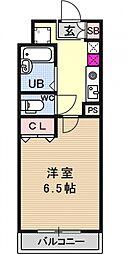 ルイシャトレ21[203号室号室]の間取り