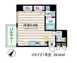 willDo海老江[4階]の間取り