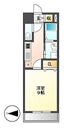 レジディア東桜[6階]の間取り