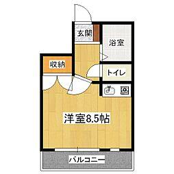 コーポ郷[3階]の間取り