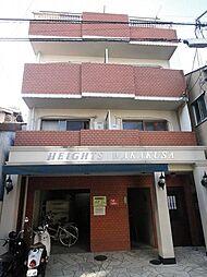 京都府京都市下京区杉蛭子町の賃貸マンションの外観