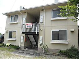 愛知県岩倉市本町上郷前の賃貸アパートの外観