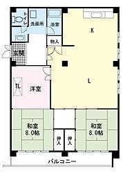 イシワタ第一ビル[4階]の間取り