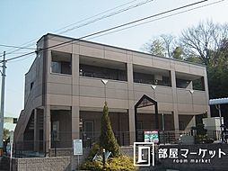 愛知県豊田市花園町小泉の賃貸アパートの外観
