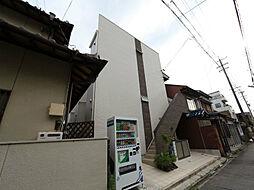 愛知県名古屋市中村区大秋町1丁目の賃貸アパートの外観