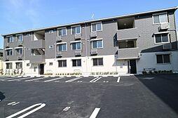 滋賀県栗東市小柿10丁目の賃貸アパートの外観