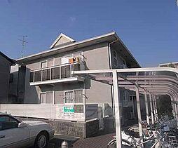京都府京都市左京区一乗寺里ノ西町の賃貸アパートの外観
