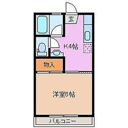 平田GRIT[2階]の間取り