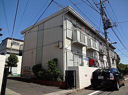東京都国立市西2丁目の賃貸アパートの外観