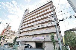 岡山県岡山市北区清輝橋3の賃貸マンションの外観