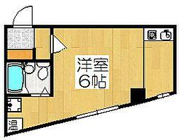 サイラスノーム京都[4階]の間取り