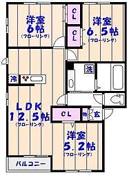 仮)D-Room妙典5丁目[101号室]の間取り
