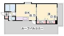 第二ジャムコビル[301号室]の間取り