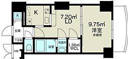 ノルデンタワー新大阪アネックス[17階]の間取り