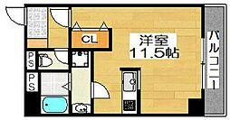 ルフレ堺[2階]の間取り