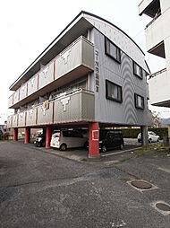 滋賀県湖南市夏見の賃貸アパートの外観