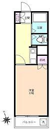 志木 賃貸マンション ファブール志木1-307号室[3階]の間取り
