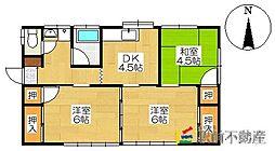 [一戸建] 熊本県玉名市岱明町下前原 の賃貸【/】の間取り