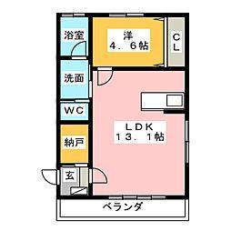CITY HOUSE[1階]の間取り