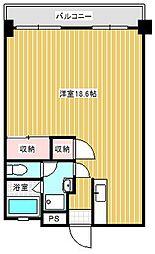森藤第一ビル[402号室]の間取り
