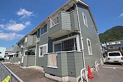 広島県広島市安佐南区緑井8丁目の賃貸アパートの外観