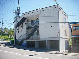 北海道小樽市長橋4丁目の賃貸アパートの外観
