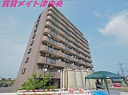 三重県津市柳山津興の賃貸マンションの外観