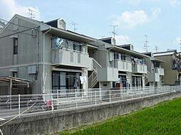 京都府京都市西京区樫原比恵田町の賃貸アパートの外観