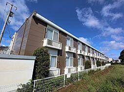 千葉県成田市本城の賃貸アパートの外観