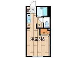 アラウ・アパートメント[2階]の間取り