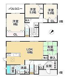 佐味田川駅 2,898万円