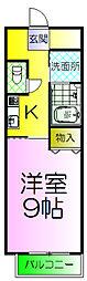 サザンクレスト堺[5階]の間取り