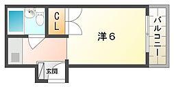 西郷マンション東棟[3階]の間取り