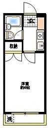 エスポワール柿生[4階]の間取り