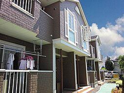 広島県福山市新市町大字戸手の賃貸アパートの外観