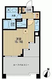 クリオ上野毛ラ・モード[0703号室]の間取り