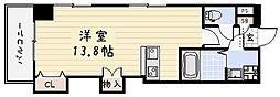 ベーシックビル(小倉)[805号室]の間取り