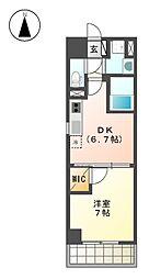 MX-I[4階]の間取り