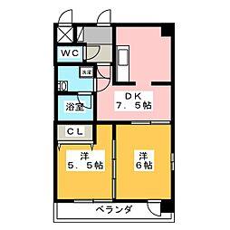 willDo桜川[1階]の間取り
