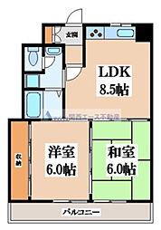 高井田青山ビル[1階]の間取り