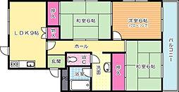 ル・パルク井堀[2階]の間取り