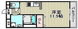 コンフォートE[3階]の間取り