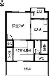 [一戸建] 愛知県小牧市小木3丁目 の賃貸【/】の間取り