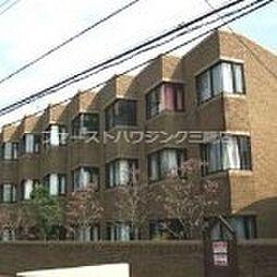東京都府中市多磨町1丁目の賃貸マンションの外観