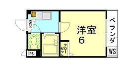 ジョイフル長澤[202号室]の間取り