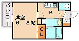 DSタワー大博通り[12階]の間取り