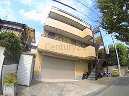 大阪府池田市豊島南2丁目の賃貸マンションの外観