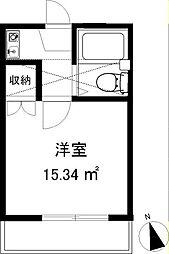 スリージェ桜ヶ丘I[202号室]の間取り