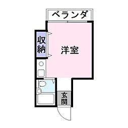 平井ビル[3階]の間取り