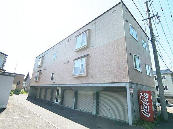 北海道札幌市厚別区厚別西一条2丁目の賃貸アパートの外観